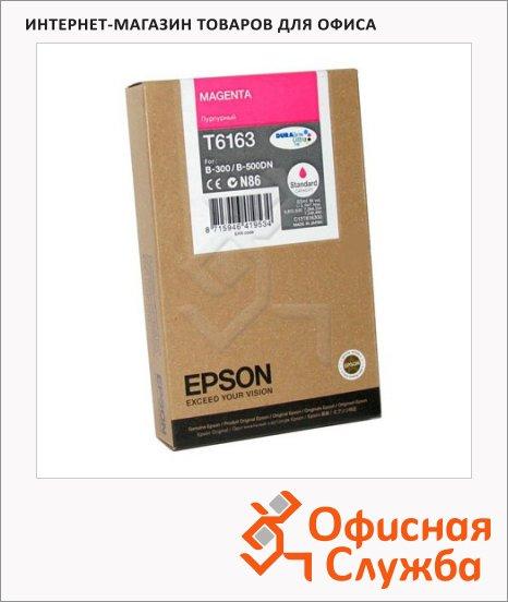 фото: Картридж струйный Epson C13 T616300 пурпурный