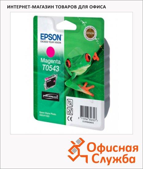 фото: Картридж струйный Epson C13 T054340 пурпурный