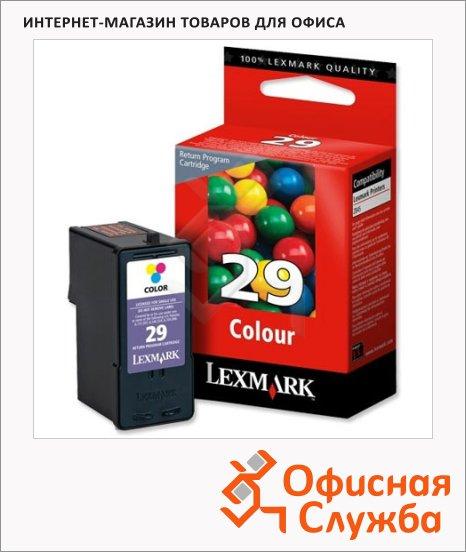 фото: Картридж струйный Lexmark 29 18C1429E трехцветный