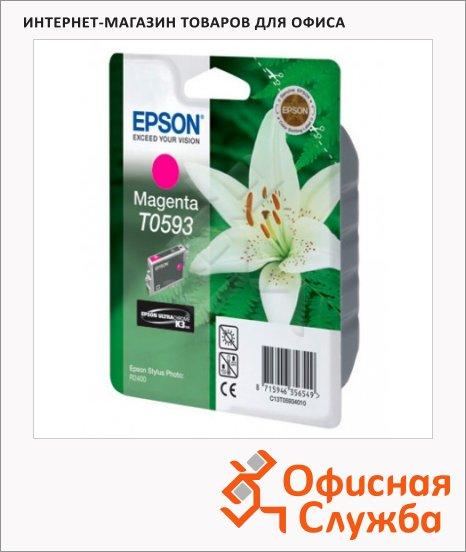 фото: Картридж струйный Epson C13 T059340 пурпурный