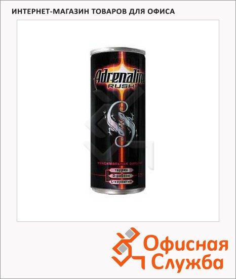 Напиток энергетический Adrenaline Rush 0.25л х 4шт, ж/б