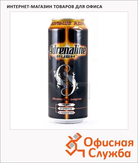 Напиток энергетический Adrenaline Rush 0.5л х 6шт, ж/б
