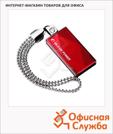 Флеш-накопитель Silicon Power Touch 810 8Gb, 10/3 мб/с, красный