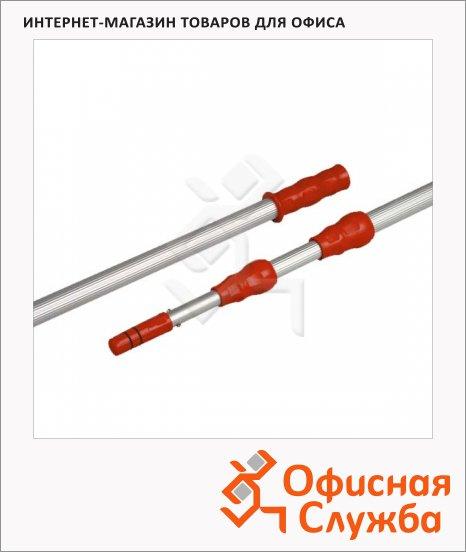 фото: Ручка для стекломойки Vileda Pro Эволюшн 2х125см телескопическая, 500115