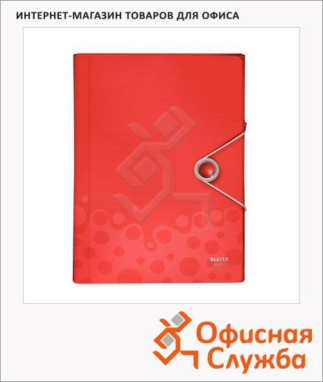 фото: Пластиковая папка на резинке Bebop красная 45630025