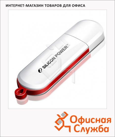 фото: Флеш-накопитель Luxmini 320 16Gb 10/5 мб/с, белый