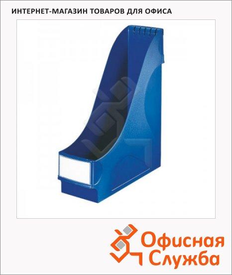 фото: Накопитель вертикальный для бумаг Leitz А4 95мм, синий, 24250035