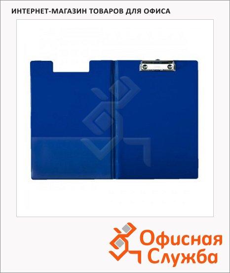 Клипборд с крышкой Esselte синяя, А4, 12167