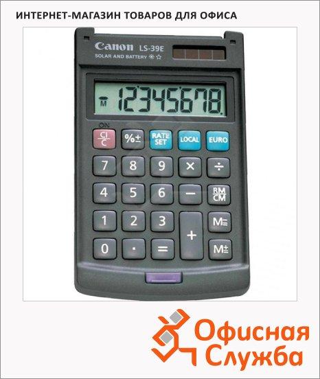 фото: Калькулятор карманный Canon LS-39E серый 8 разрядов