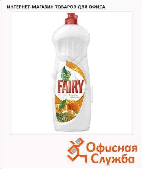 Средство для мытья посуды Fairy OXI 1л, гель, апельсин/ лимонник
