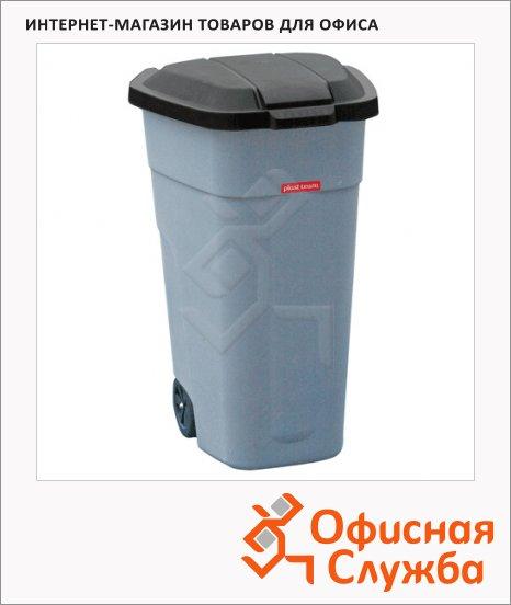 Бак для мусора на колесах Plast Team Outdoor Bin серый