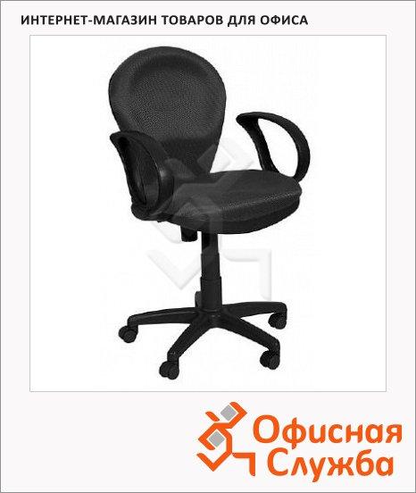 Кресло офисное Бюрократ CH-687AXSN ткань, черная, крестовина пластик