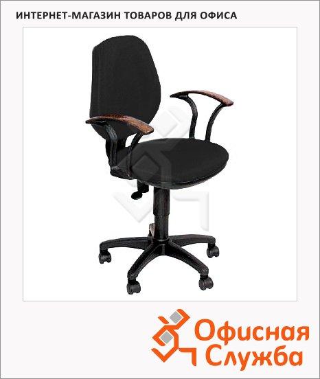 Кресло офисное Бюрократ CH-725AXSN ткань, черная, JP, крестовина пластик