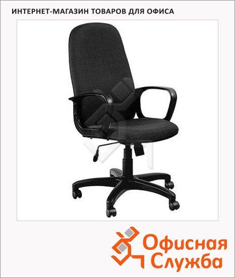 Кресло руководителя Бюрократ CH-808AXSN ткань, крестовина пластик, черная, TW