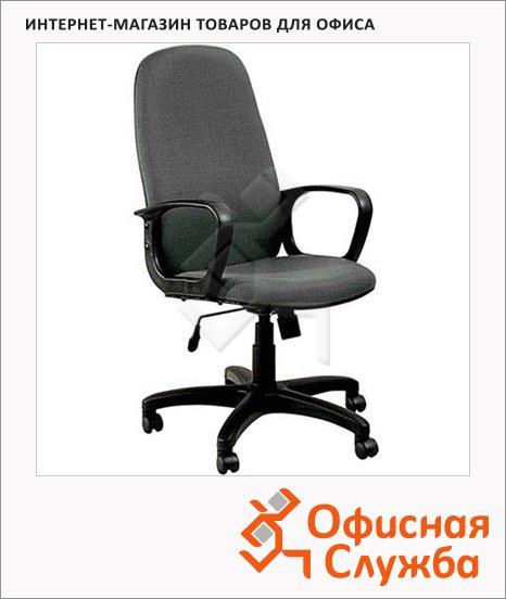 Кресло руководителя Бюрократ CH-808AXSN ткань, крестовина пластик, серая
