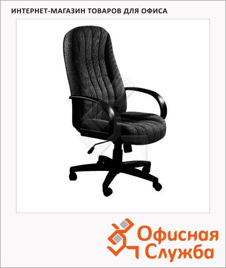 Кресло руководителя Бюрократ T-898AXSN ткань, черная, крестовина пластик