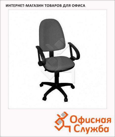 фото: Кресло офисное Бюрократ CH-300AXSN ткань крестовина пластик, серая