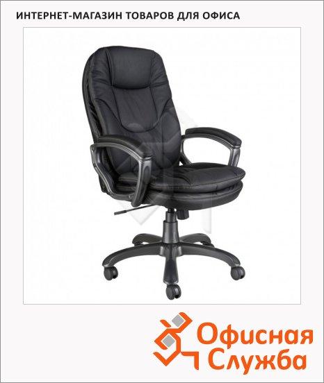 Кресло руководителя Бюрократ CH-868AXSN иск. кожа, крестовина пластик, черная
