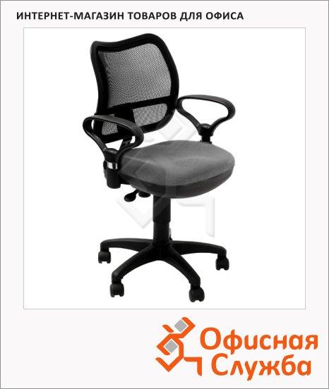 фото: Кресло офисное Бюрократ CH-799SL/DG ткань серая, TW, крестовина пластик