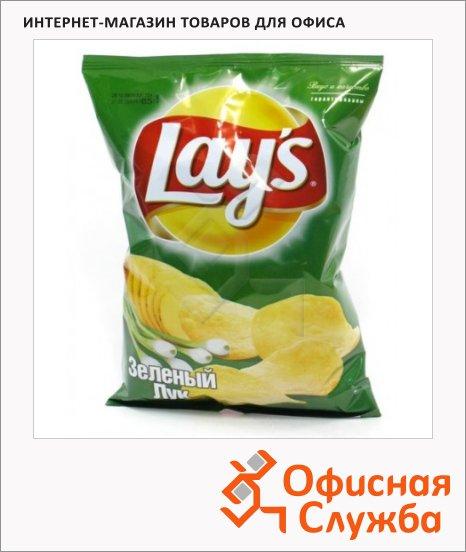 Чипсы Lays зеленый лук, 160г