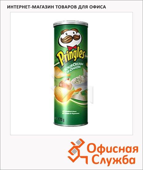 Чипсы Pringles сметана/ лук, 165г