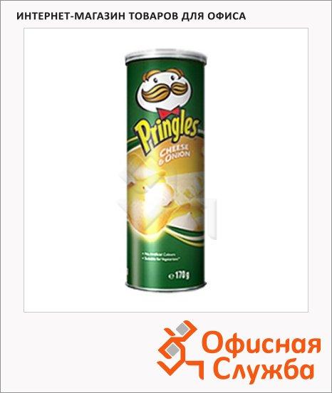 Чипсы Pringles сыр/ лук