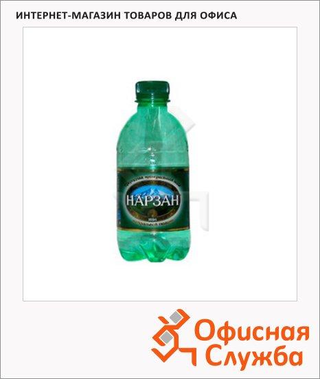 Вода минеральная Нарзан газ, ПЭТ, 0.33л
