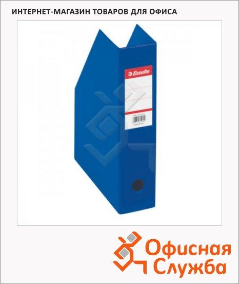 Накопитель вертикальный для бумаг Esselte А4, 70мм, синий, 56005
