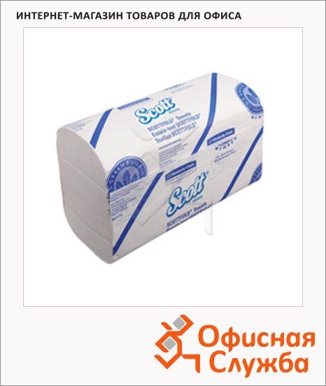 Бумажные полотенца Kimberly-Clark Scott Scottfold 6633, листовые, 175шт, 1 слой, белые