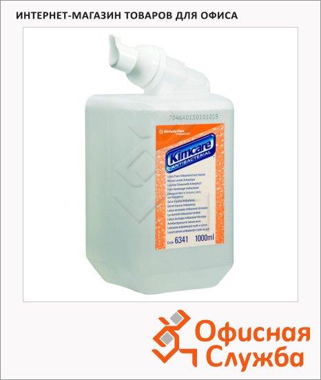 фото: Пенное мыло в картридже Kimberly-Clark Kimcare 6341 1л, антибактериальное, прозрачное