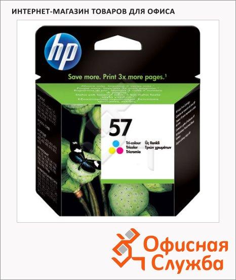 Картридж струйный Hp 57 C6657A, 3 цвета