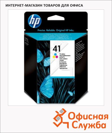Картридж струйный Hp 41 51641A, трехцветный