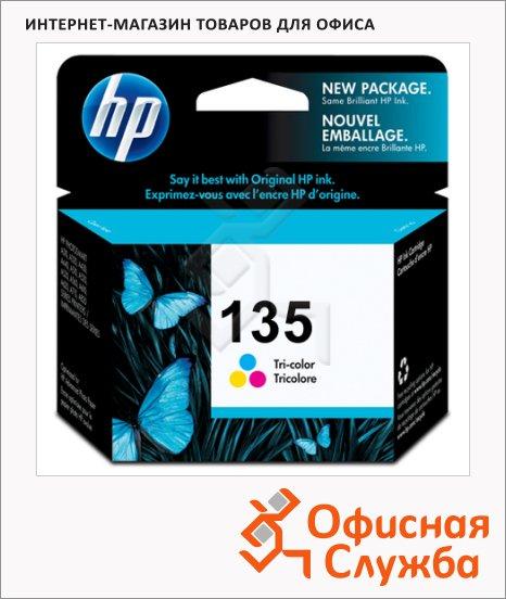 Картридж струйный Hp 135 C8766HE, трехцветный