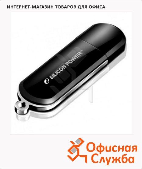 Флеш-накопитель Silicon Power Lux Mini 322 4Gb, 15/10 мб/с, черный