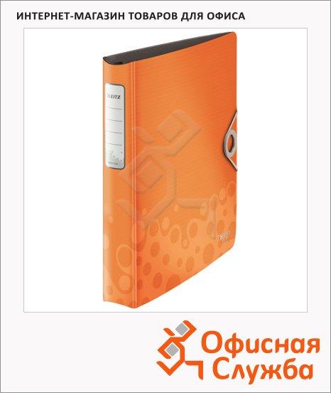 фото: Папка-панорама на 4-х кольцах А4 Active Bebop оранжевая 42360045