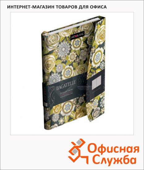 фото: Тетрадь общая Art-Blanc Bagatelle Study La Mirada А5, 96 листов, в клетку, на сшивке, твердый картон, магнитный клапан