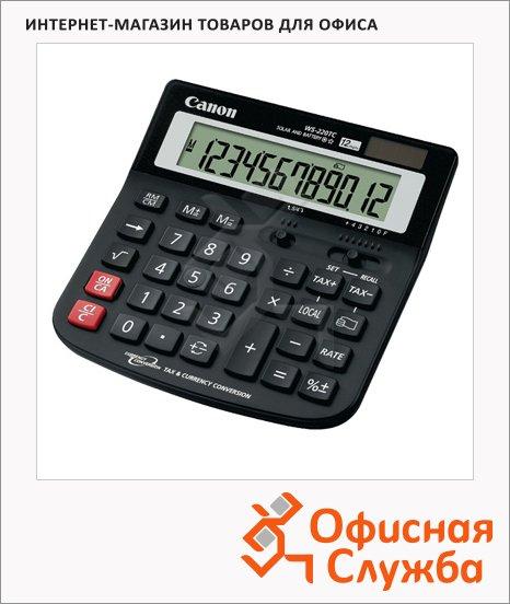 фото: Калькулятор настольный Canon WS-220TC черный 12 разрядов, бухгалтерский