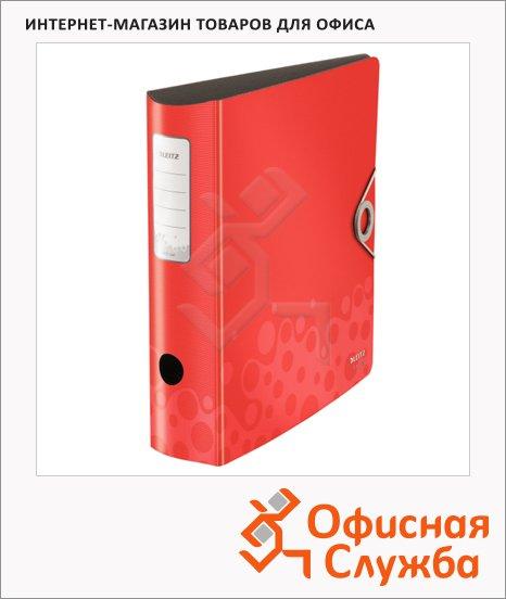 фото: Папка-регистратор А4 180° Active Bebop красная 10470025