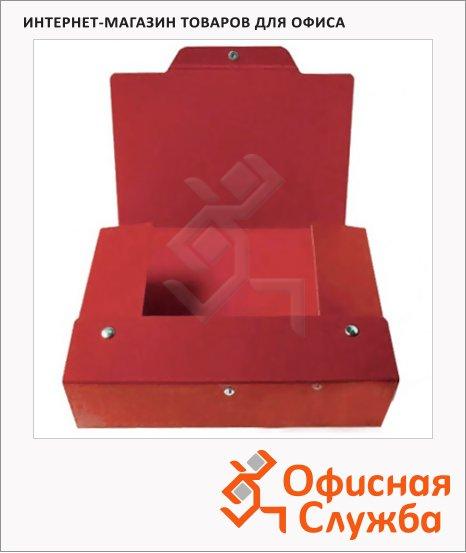 Архивный бокс красный, А4, 80мм