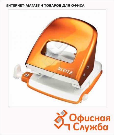фото: Дырокол Leitz WOW NeXXt до 30 листов оранжевый, 50082044