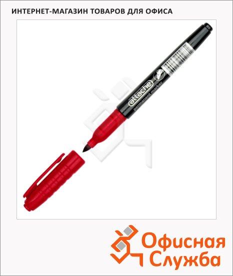 фото: Маркер перманентный Attache красный 1.5-3мм, круглый наконечник