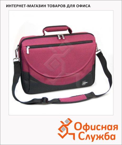 "Сумка для ноутбука Sumdex PON-302BK 15.4"", красная"