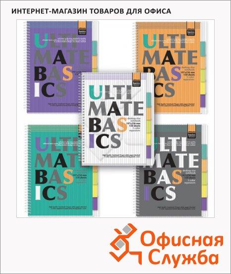 Тетрадь Альт Ultimate basics, А4, 150 листов, в клетку, на спирали, пвх