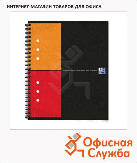 Тетрадь общая Oxford Aktivebook, А4, 80 листов, в клетку, на спирали, пластик