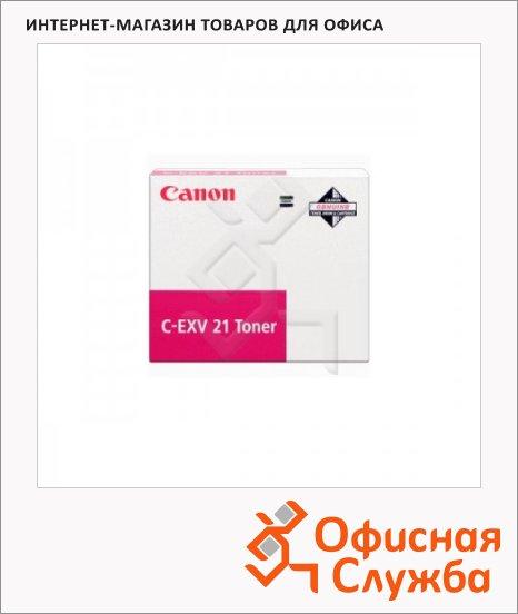 фото: Тонер-картридж Canon C-EXV21M пурпурный, (0454B002)