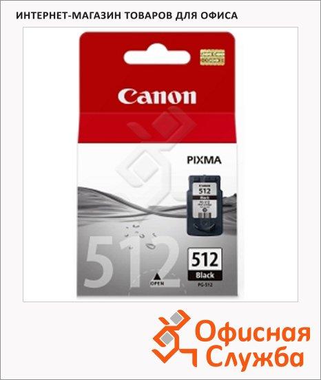 Картридж струйный Canon PG-512, черный, (2969B007)