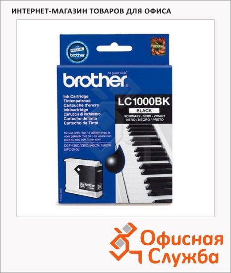 фото: Картридж струйный Brother LC1000BK черный