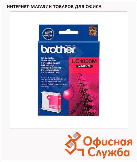 фото: Картридж струйный Brother LC1000M пурпурный