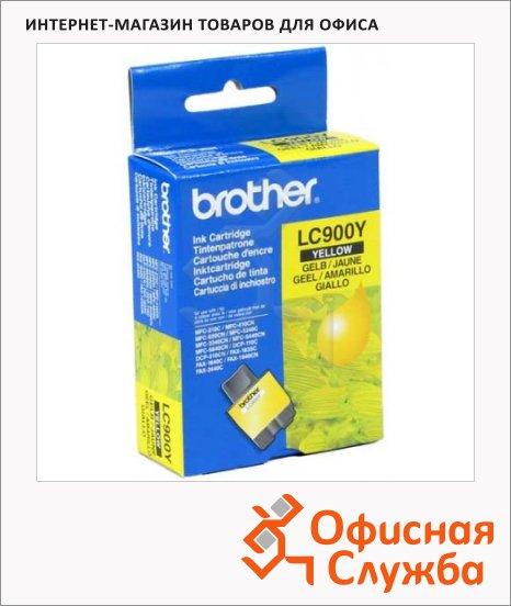 Картридж струйный Brother LC900Y, желтый