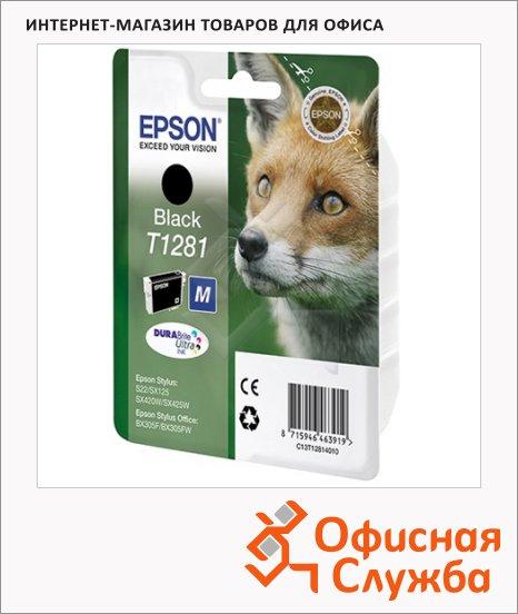 фото: Картридж струйный Epson C13T1281 4011 черный